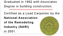 CLC Certified Lead Carpenter